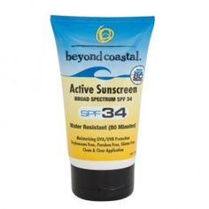 Beyond Coastal Active SPF 34 Sunscreen - Travel Size