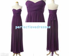 Purple maternity empire waist floorlength by PerfectLovedresses, $95.00