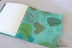Caderno Couro Flexível - Ateliê Fofurices