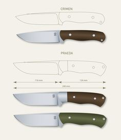 printable knife templates homemade knife template