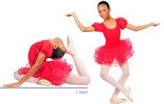 √ Tutù Bambina Rosso, Tutù Ballerina Danza, Tutù per Ballerine danza classica, Tutù danza classica