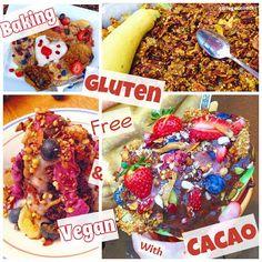Baking #Glutenfree & #Vegan with #Cacao: Tips & Tricks