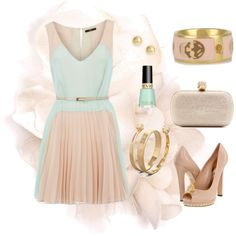Spring Wedding Dressing. So cute for an engagement party or bridal shower!