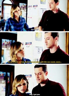 Lindsay and Jay Halstead #Linstead tumblr #ChicagoPD #onechicago