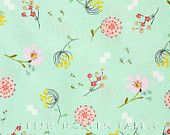 Half Yard Posy Bouquet in Forget Me Not, Aneela Hoey, Moda Fabrics, 100% Cotton Fabric