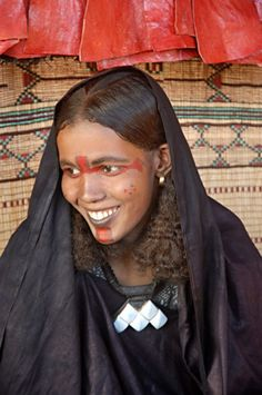 Tuareg woman, Sahara