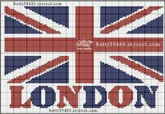 Union Jack. Great for a cushion, bag, clothing detail...