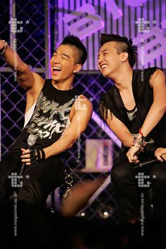 Music's 17 Greatest Bromances from FuseTV: G-Dragon + Taeyang