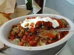 burrito bowl chipotle's chicken