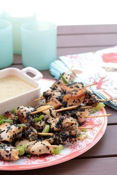 Sesame Chicken and Green Tahini