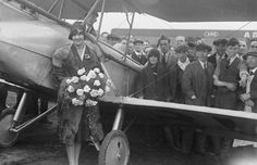 Lady Mary Heath - Lady Icarus - was the first pilot, male or female, to fly a… Half A Decade, Private Pilot, Female Pilot, Vs The World, Amelia Earhart, Lady Mary, Vintage Air, Great Women, One Pilots
