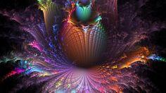 Flower Acid Trip Wallpaper.