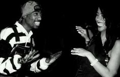 What was the girl tupac was dating in 1996