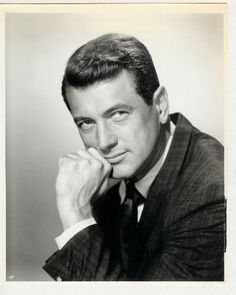 Rock Hudson (1925 - 1985) // There is no good reason for ONE MAN to be this attractive