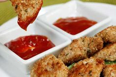 Kylling nuggets lavet i ovn - Powered by @ultimaterecipe