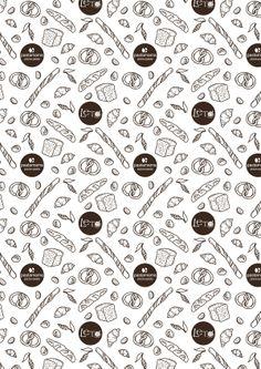 Bread package by Yulya Glushakova, via Behance