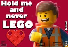 Never LEGO: Celebrate Valentine's Day With Our Printable Movie-Themed Cards - Music, Celebrity, Artist News | MTV.com