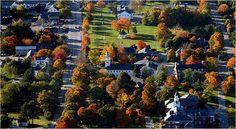 Fall in New London, NH!