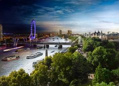 thames river, london, c2014 Stephen Wilkes