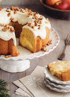 Esta deliciosa receta de rosca de manzana queso crema y nueces es perfecta para ti. Te dejamos de una forma fácil y práctica como prepararla.