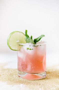 Blood Orange Mojito