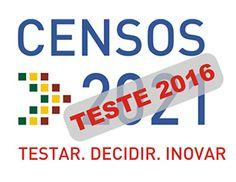 Siga no Facebook: Censos 2021 - Portugal Censos 2021 - XVI Recenseamento Geral da População e VI Recenseamento Geral da Habitação
