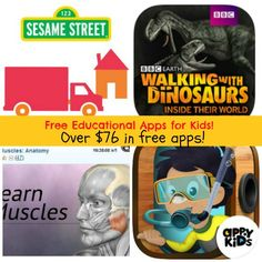 Over $76 in FREE Educational Apps for Kids for 5/30/14! {iTunes + Android!}