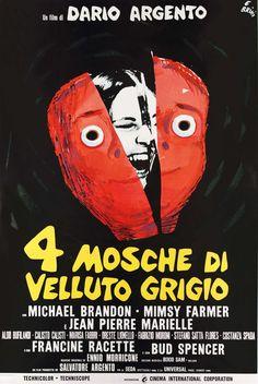 4 mouches de velours gris de Dario Argento (1971) - Analyse et critique du film - Dvdclassik