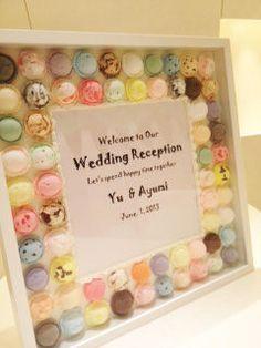 """【ほんとうに可愛い!】結婚式の参考に""""ウェルカムボード""""ウェディングver.まとめ♪ - NAVER まとめ"""