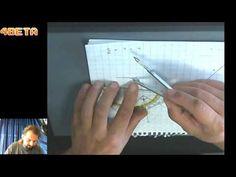 Gebruik passer   Gelijkbenige driehoek tekenen - YouTube