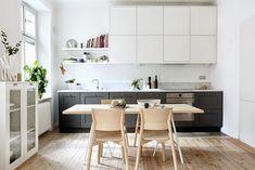 Minha casa escandinava: uma casa de Estocolmo com uma cozinha fabulosa.