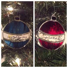 Stained Glass Christmas Tree Ornament Choose by TwistedVinesGlass, $20.00