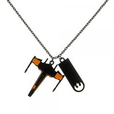 Star Wars Black Squadron X-Wing Necklace