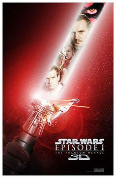 Star Wars Episode 1 - The Phantom Menace in 3D