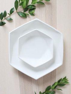 Convivial Hexagon Plate – Salad