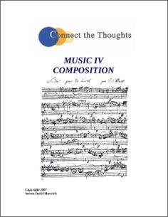 COURSE - Music Theory IV - Composition | Connect the Thoughts