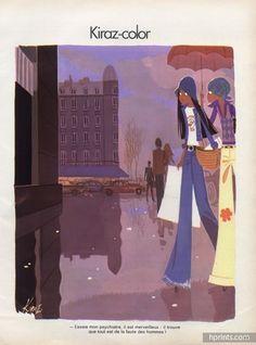 Edmond Kiraz 1973 Les Parisiennes, Shopping