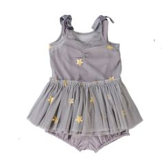 Stella McCartney Tulle Star Bell Dress and Bloomer