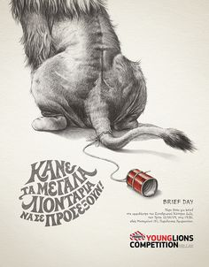Young Lions 2009 - Print Campaign on Behance