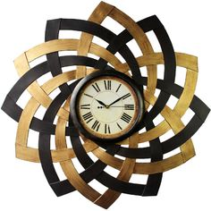 Wall Clocks   Wayfair ❤ liked on Polyvore featuring home, home decor, clocks, mantel clocks and mantel-clock