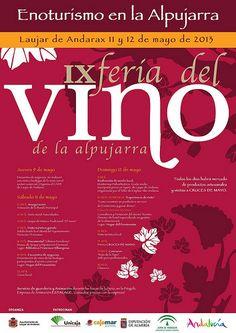 IX Feria del Vino en Laujar. Proyecto rumor Alpujarra Almería.