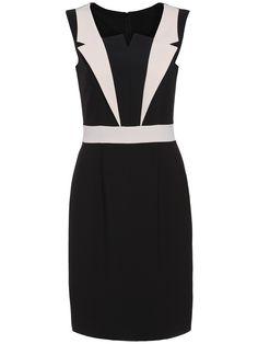 Black Apricot Sleeveless Bodycon Dress   -SheIn