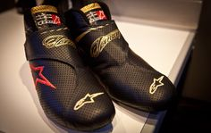Kimi's new shoes...