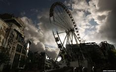 Manchester Apocalypse: The Big Wheel by James Chadderton