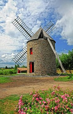 ✯ Windmill Brittany France