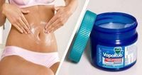 How to use Vicks VapoRub to get rid of belly fat and . - How to use Vicks VapoRub to get rid of belly fat and get firm and smooth skin? Belly Fat Burner, Burn Belly Fat, Congested Nose, Vicks Vaporub Uses, Lose Weight, Weight Loss, Lose Fat, Body Wraps, Fitness Workouts
