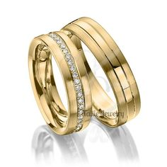 His Hers Mens Womens Matching 14k Yellow Gold Wedding Bands Rings Set 6mm Wide Sizes 4 12 Free Engraving New By Talliejewelry On Etsy