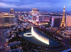 the fantastic strip view from Cosmopolitan - Las Vegas #JetsetterCurator