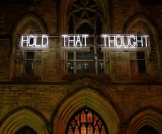 "Nuit Blanche ""Hold That Thought"""