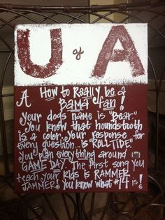Roll Tide... need to update this to #15